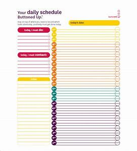 hourly schedule template 35 free word excel pdf With daily hourly planner template excel