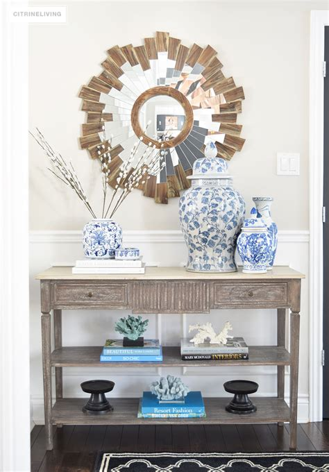 White Living Room Table Ls one console table four different ways