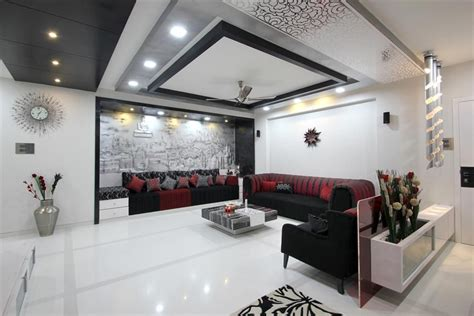 Design For Living Room Hyderabad by We Are And Dynamic Architects Working In The Field