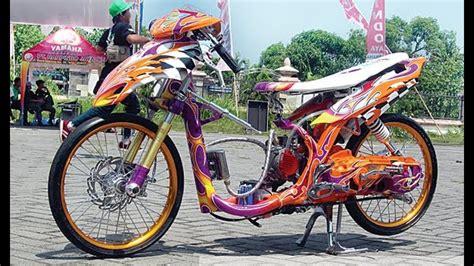 Motor Drag Mio Sporty by Motor Trend Modifikasi Modifikasi Motor Yamaha Mio