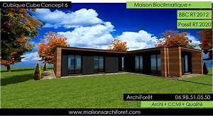Maison Plain Pied En L : plan et photo maison plain pied en l ou plein pied en rez ~ Melissatoandfro.com Idées de Décoration