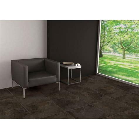 carrelage marbre noir intense cairo 60x60cm