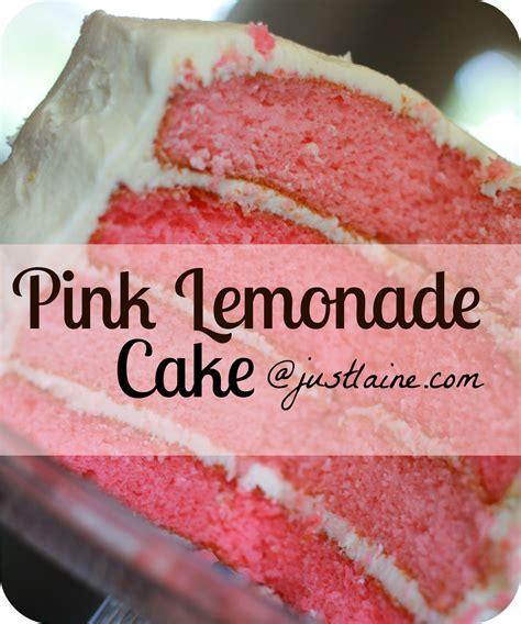 pink lemonade cake it s just laine layered pink lemonade cake with lemon butter frosting