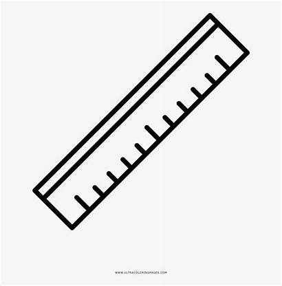 Ruler Drawing Coloring Rulers Clipart Clipartkey