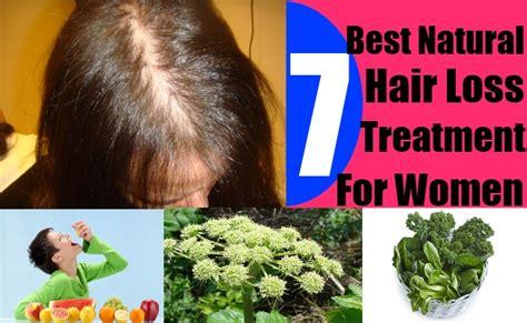 7 Best Natural Hair Loss Treatment For Women Effective