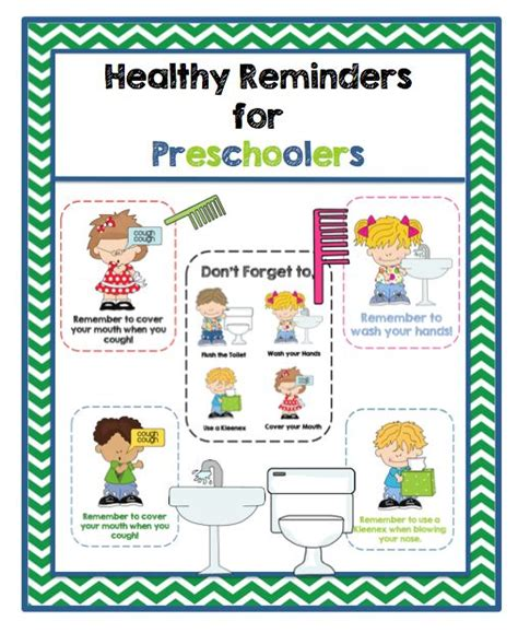 healthy habits for preschoolers the 175 best images about healthy bodies snacks amp projects 469