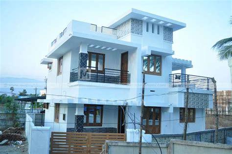 bedroom budget minimalist home design   sqft   lakhs   cent plot  kerala