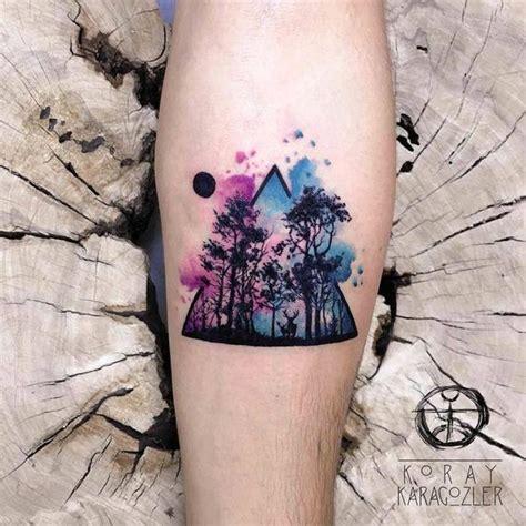 popular watercolor tattoos  fashionable women