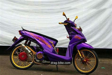 Foto Modification Motor Beat by 50 Foto Gambar Modifikasi Beat Kontes Racing Jari