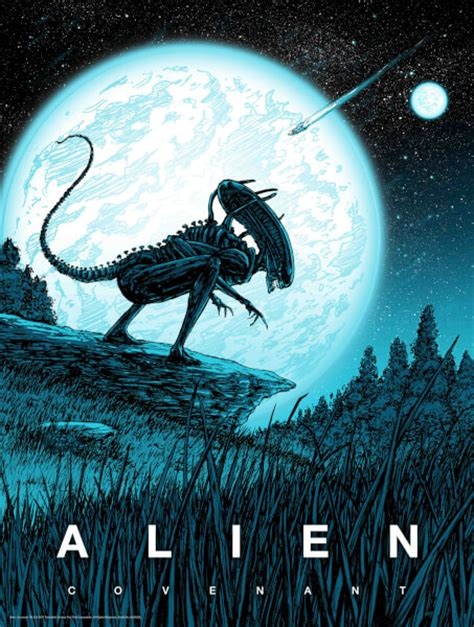 Alien Covenant By Barry Blankenship With A Glow-In-The