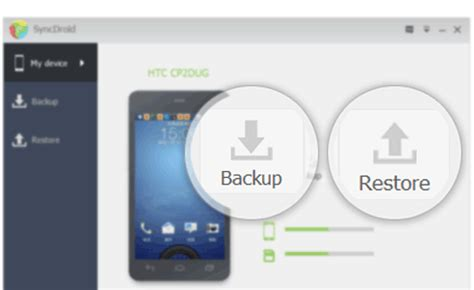 how to backup android syncdroid sync android to pc free android backup free