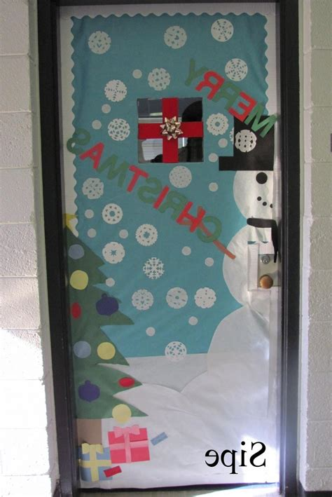 christmas door decorating contest ideas