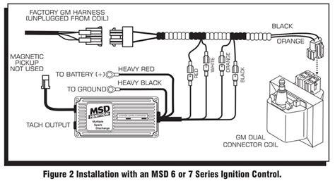 Msd Streetfire Ignition Kit Camaro Firebird