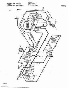 Wiring Diagram  U0026 Parts List For Model 40627x92a Murray