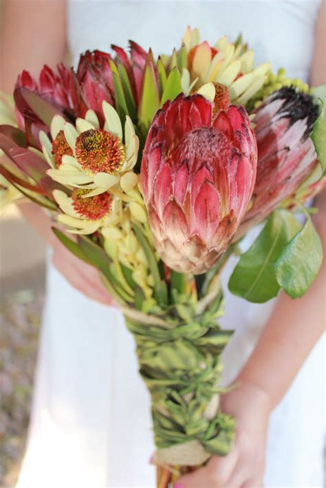 Bloomingmill Protea Bridal Bouquet