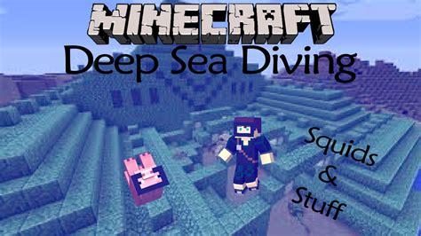 minecraft mod deep sea diving  youtube