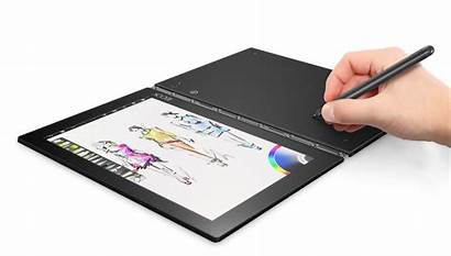 Yoga Laptop Pen Paint Keyboard Without Using