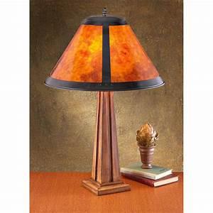 Mica U00ae Mission - Style Floor Lamp