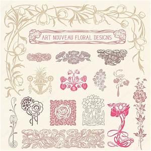 Jugendstil Florale Ornamente : jugendstil florale ornamente stockvektor giraphics ~ Orissabook.com Haus und Dekorationen