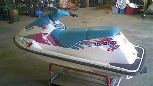 Lot 1327d 1994 Sea Doo Sp 580 Running Jet Ski