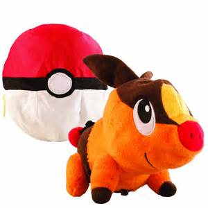 pokemon plush toys with pokeball images
