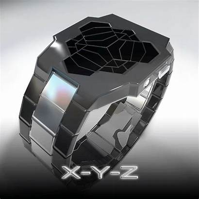 Futuristic Watches Amazing Pouted Rings Screen Cool