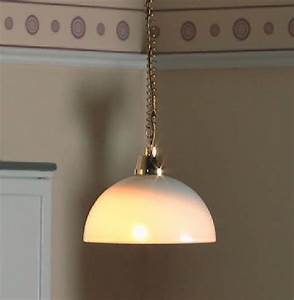 Rise and fall domed ceiling light scale by dolls