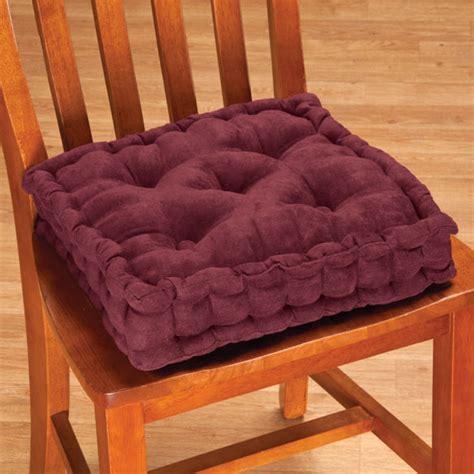 tufted booster cushion seat cushion chair cushion