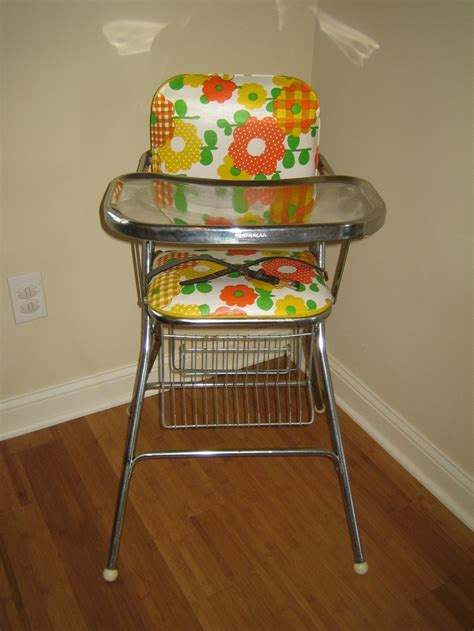 vintage high chair for the home
