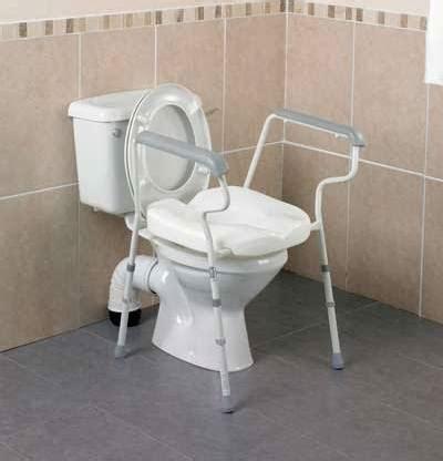 stirling elite height adjustable toilet frame parkgate mobility