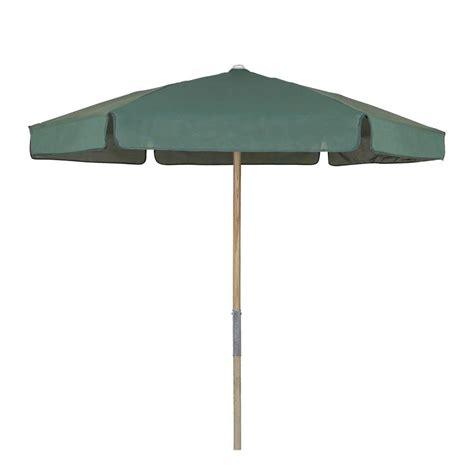 ft wood beach patio umbrella  forest green vinyl