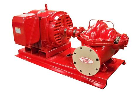 Peerless AEF Horizontal Split-Case Fire Pump - BBC Pump ...