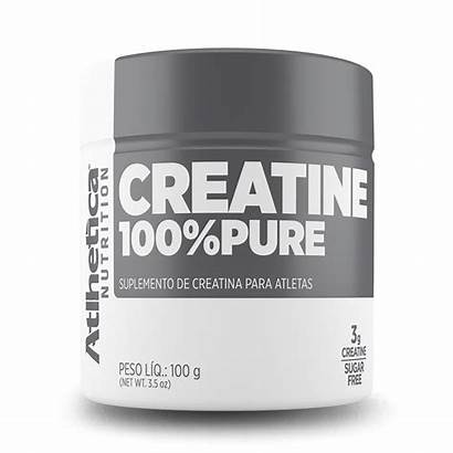 Creatina Pure 100g Atlhetica Nutrition Creatine Natural