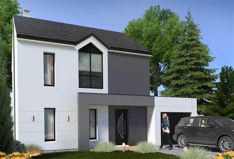 maison a 1 plan maison individuelle 3 chambres 27 habitat concept