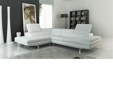 contemporary italian leather sectional sofas dreamfurniture com 959 modern italian leather