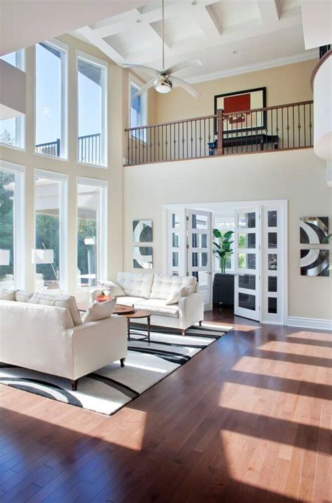 54 Living Rooms With Soaring 2story & Cathedral Ceilings