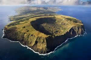 rano kau volcano in rapa nui national park easter island chile Easter Island (Chile)