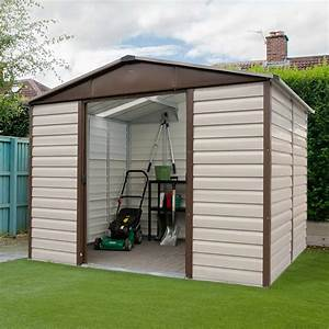 Abri De Jardin Petit : petit abri de jardin m tal 5 97 m ep 0 30 mm yardmaster ~ Premium-room.com Idées de Décoration