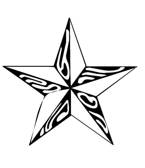 Herz vorlage zum ausdrucken schön herz vorlage zum ausdrucken mit. Kostenlose Malvorlage Schneeflocken und Sterne: Stern 6 ...
