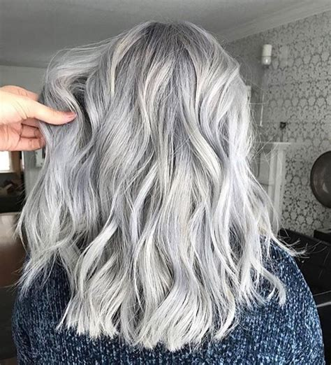The 25 Best Hair Color Silver Grey Ideas On Pinterest