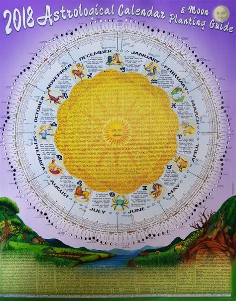 zodiac calendar  planting ten  printable calendar