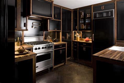 cuisine la cornue 20 black kitchens that will change your mind about