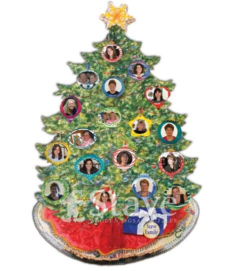 family tree oh christmas tree a treat puzzle stave