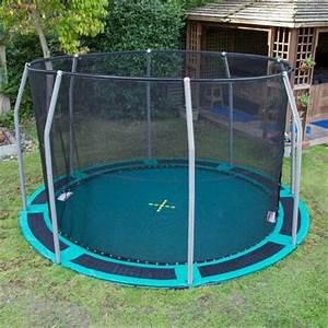 In Ground Trampolin : 25 best ideas about in ground trampoline on pinterest ground trampoline cool backyard ideas ~ Orissabook.com Haus und Dekorationen
