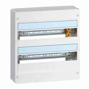 Dimension Tableau Electrique : tableau lectrique legrand 2 rang es 18 modules drivia ~ Melissatoandfro.com Idées de Décoration
