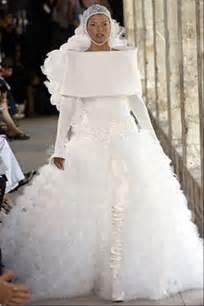 the wacky world of wedding dresses 25 pics - Ugliest Wedding Dresses