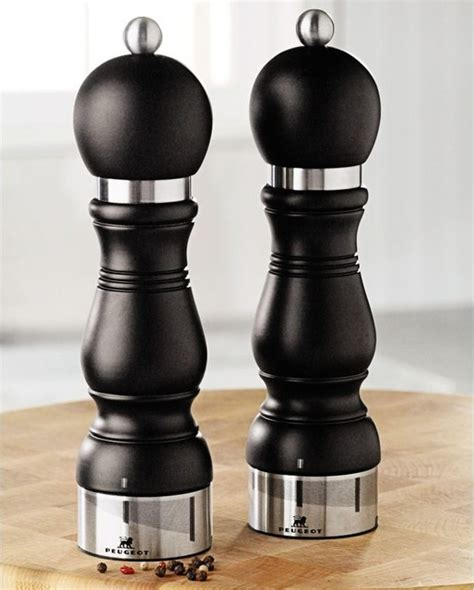Peugeot Salt And Pepper Mills by Peugeot Chateauneuf Salt And Pepper Mills Salt And
