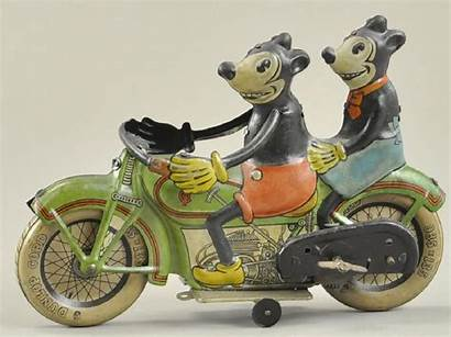 Minnie Mickey Motorcycle Mouse Tippco Liveauctioneers Enregistree