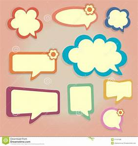 Colored Speech Bubbles Royalty Free Stock Photos - Image ...