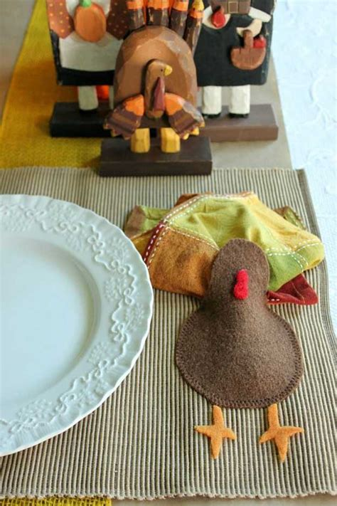 homemade thanksgiving decorations  diy placemat ideas